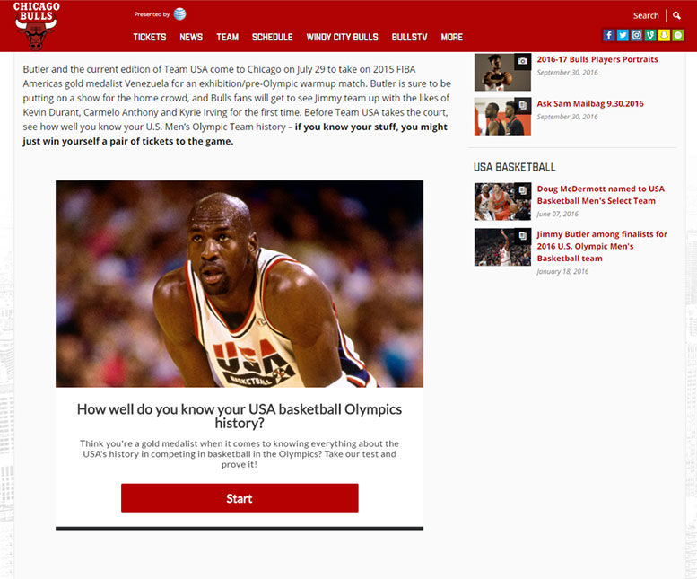 Chicago Bulls Quiz