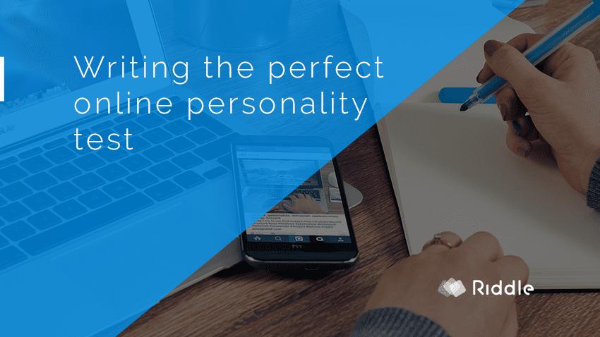 online personality quiz