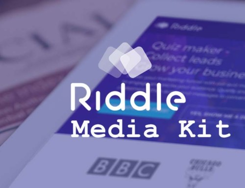 Riddle media kit: press-ready assets