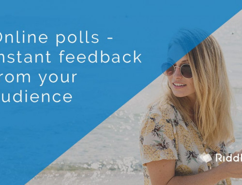 Create an online poll – tips and best practices