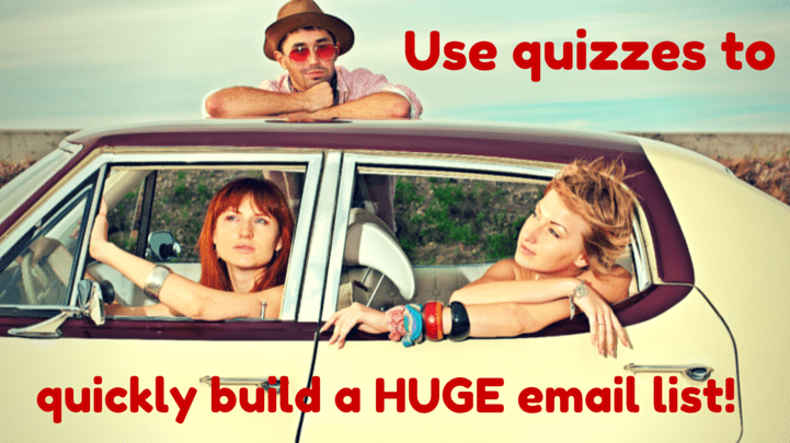 Using quizzes for lead generation