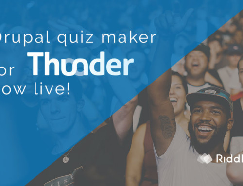 Thunder CMS Drupal quiz maker – now live!