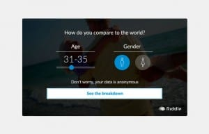 Get valuable age and gender data