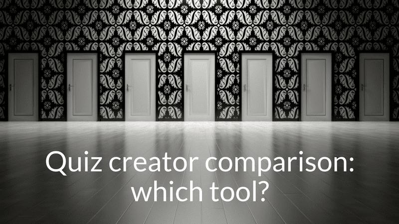 quiz creator comparison