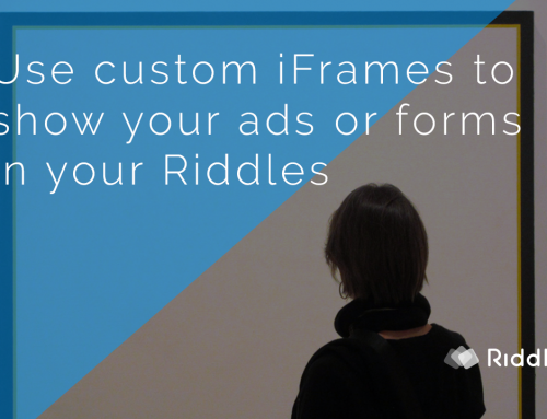 Riddle University: how to use the In-Quiz iFrame