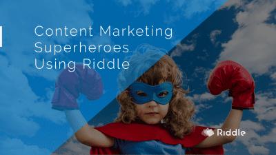 Content marketing super hero