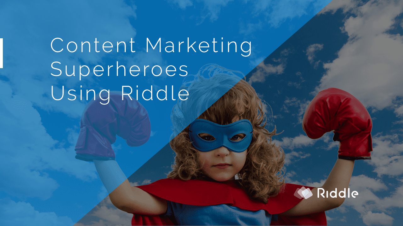 Content marketing super hero