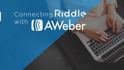Connect Riddle to your aWeber account