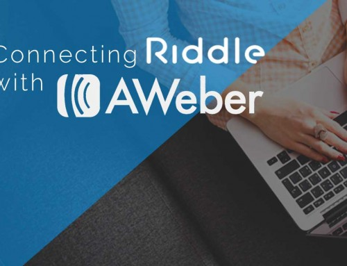 Connect Riddle Lead Generation with your aWeber Account