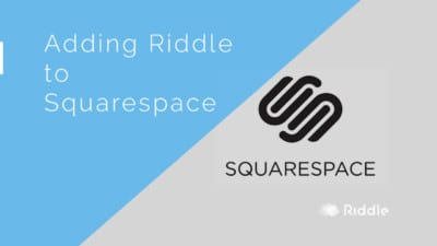 Adding Riddle to Squarespace