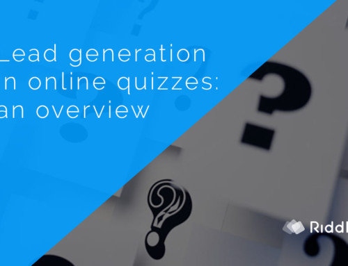 Lead generation and online quizzes – what to create?