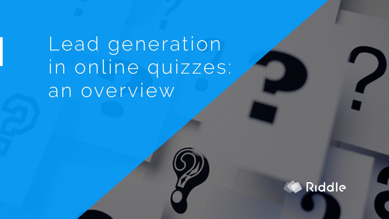 Groovy Online Quiz Lead Generation What Quiz Type Works Best Riddle Blog Hairstyle Inspiration Daily Dogsangcom