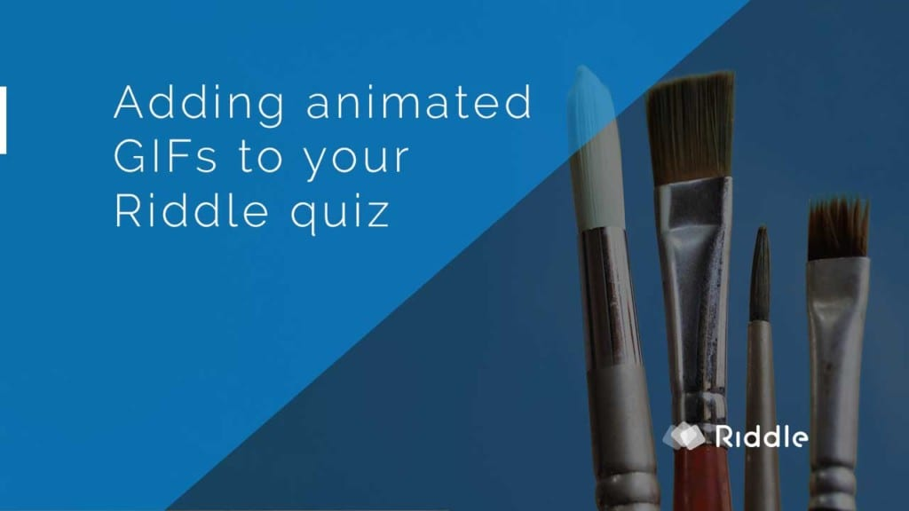 quiz with animated GIFs
