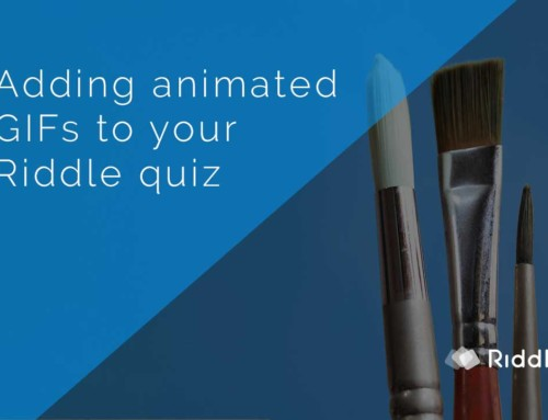 Make a quiz with animated GIFs – three options