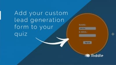 custom lead generation form