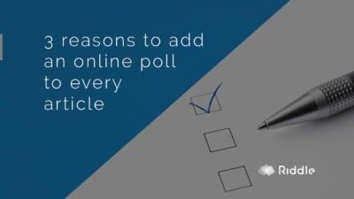 make a poll