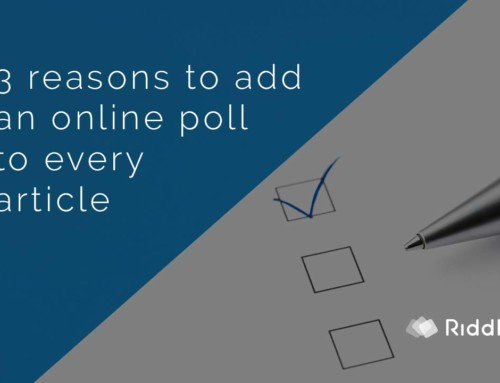 3 reasons you should make a poll for every article
