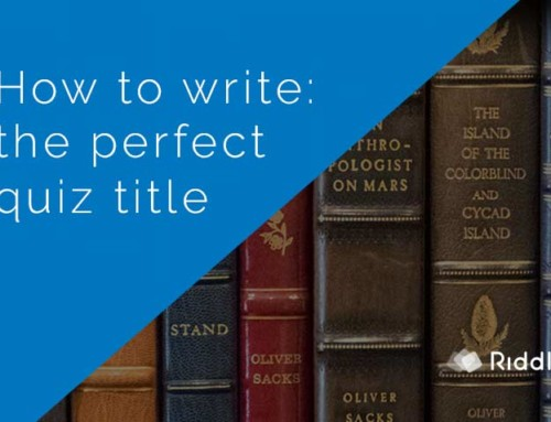 Writing the perfect quiz title