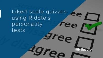 likert scale quizzes