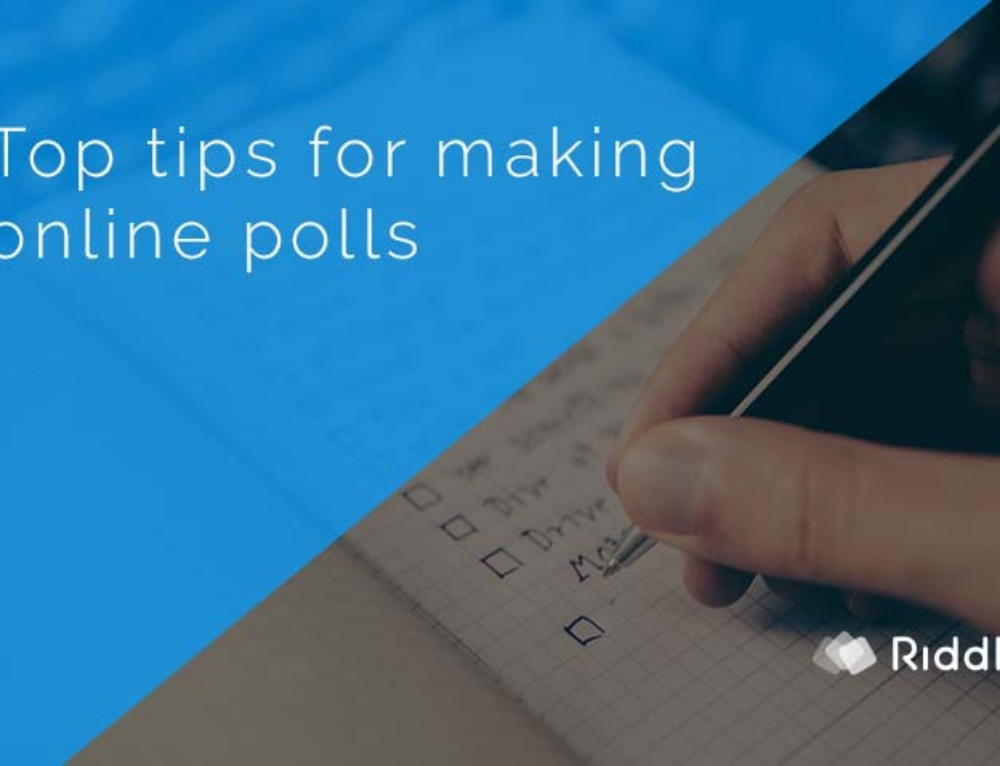 Create your own poll online – boost engagement and sharing