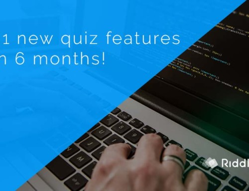 We've shipped 21 new quiz features (and counting)