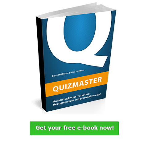 Free eBook on how to write the perfect personalty test
