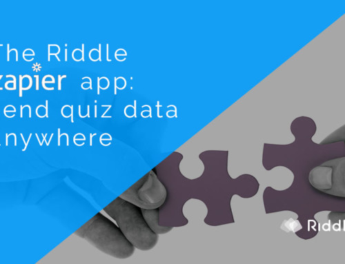 Riddle Zapier app – send quiz data to any email tool