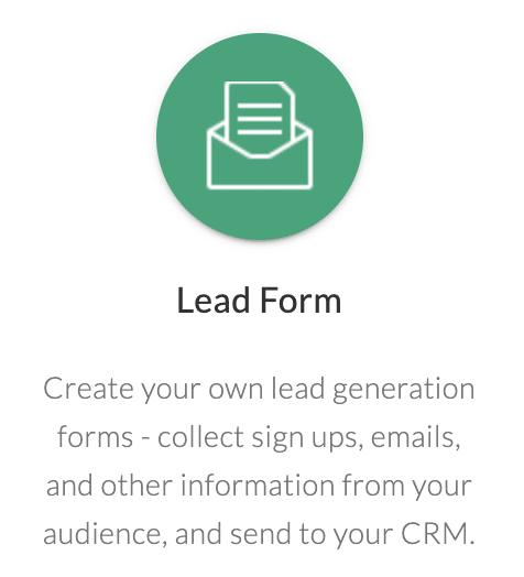 quiz lead form