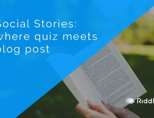 Social story – where quiz meets blog post
