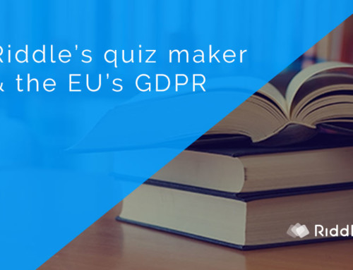 Riddle – a GDPR compliant quiz maker