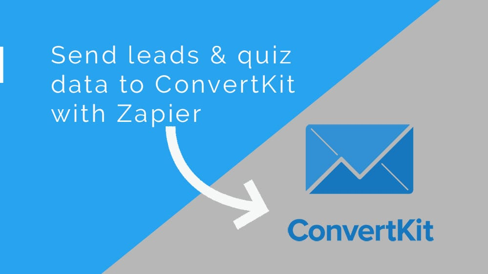 ConvertKit lead generation with Riddle's quiz maker