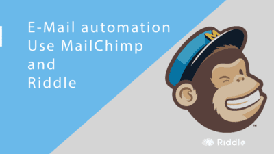 E-Mail Automation with Riddle quizmaker and MailChimp