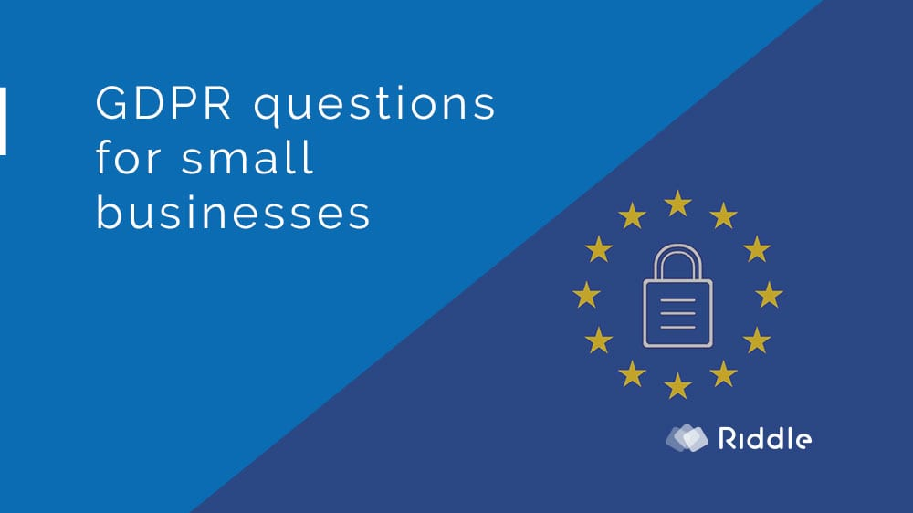 GDPR for small business: collect marketing emails