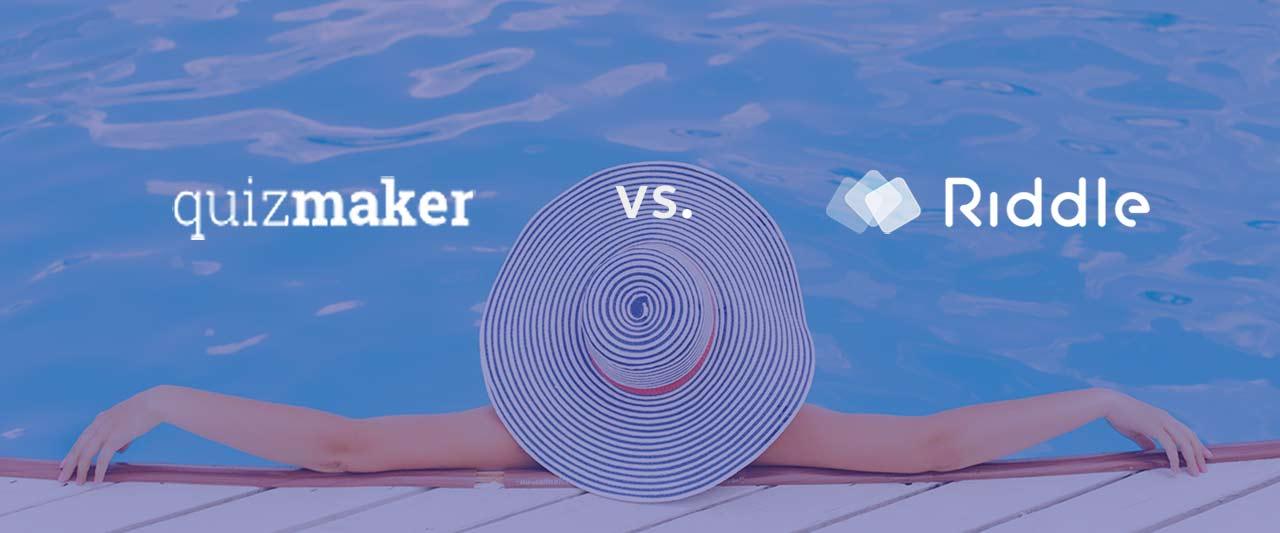 quiz-maker vs riddle
