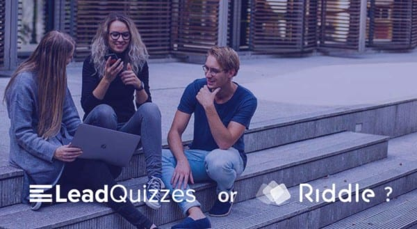 Leadquizzes vs Riddle - which quiz maker?