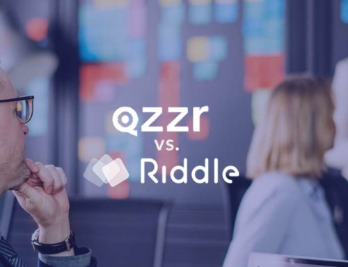 Quiz maker comparison: Riddle vs. Qzzr (50+ features)