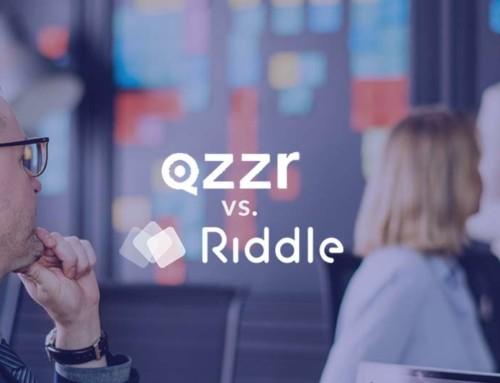 Quiz maker comparison: Riddle vs. Qzzr (50+ features)