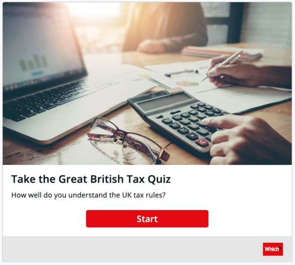 which? lead generation with quizzes