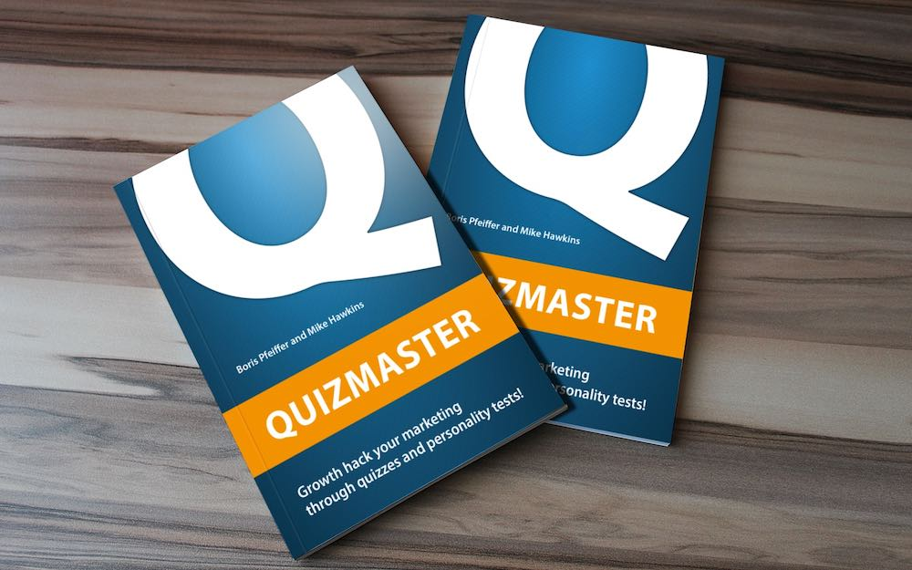 Quizmaster eBook - Growth hack your marketing with quizzes and personality tests