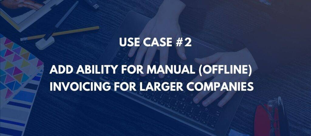 subscription management - better manual invoicing