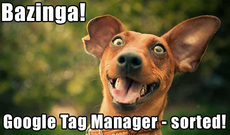 google tag manager quiz tracking