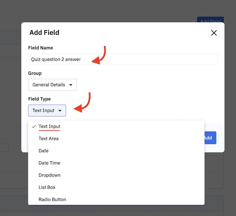 Choosing right field type for activecampaign integration