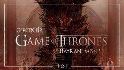 Gerçek birGame of Throneshayranımısın?