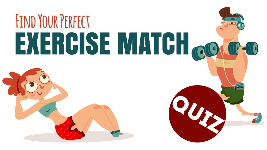 Your perfect Exercise Match [Quiz] | ecogreenlove