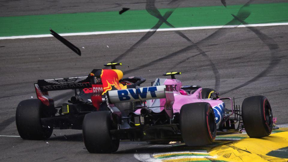 Em dia de Hamilton, o nome foi Verstappen. Mas tinha um Ocon....